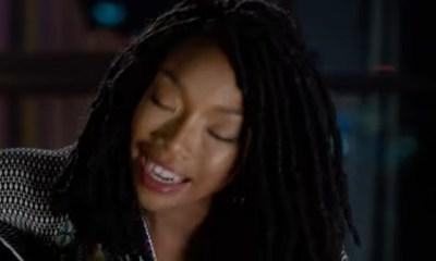Brandy Hear Me music video