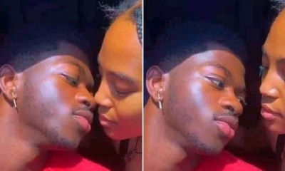 Lil Nas X kisses a girl and it goes viral on Facebook