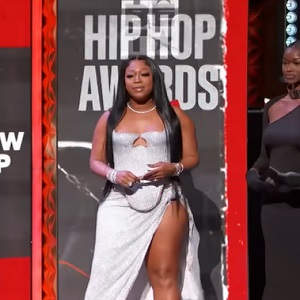 Trina has people thinking she is pregnant because she looks super thick at the BET Hip Hop Awards