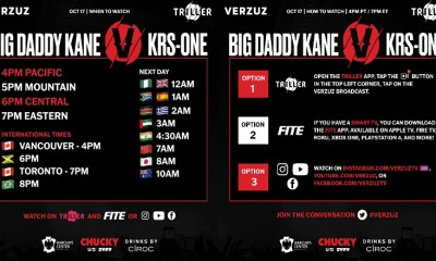 Verzuz is charging viewers for tonight's Big Daddy Kane-KRS-One concert, but tomorrow's battle is free