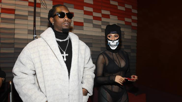 Image result for Cardi B Turns Up To Pop Smoke & Offset Song