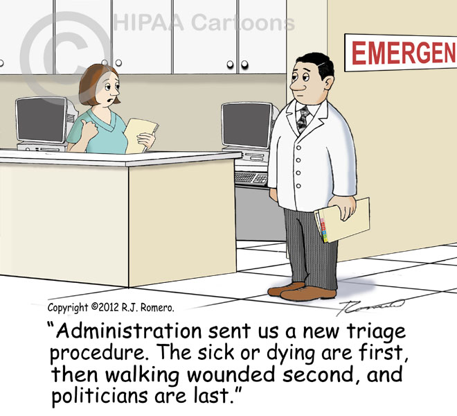 Cartoon-nurse-tells-doctor-that-administration-sent-new-triage-procedure_e105