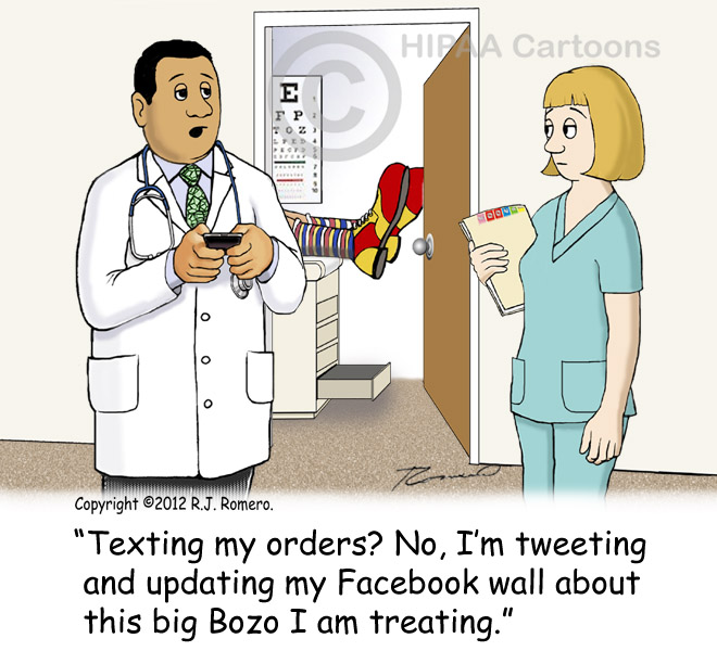 Cartoon-doctor-tells-nurse-he-is-texting-about-clown-he-just-treated_p133