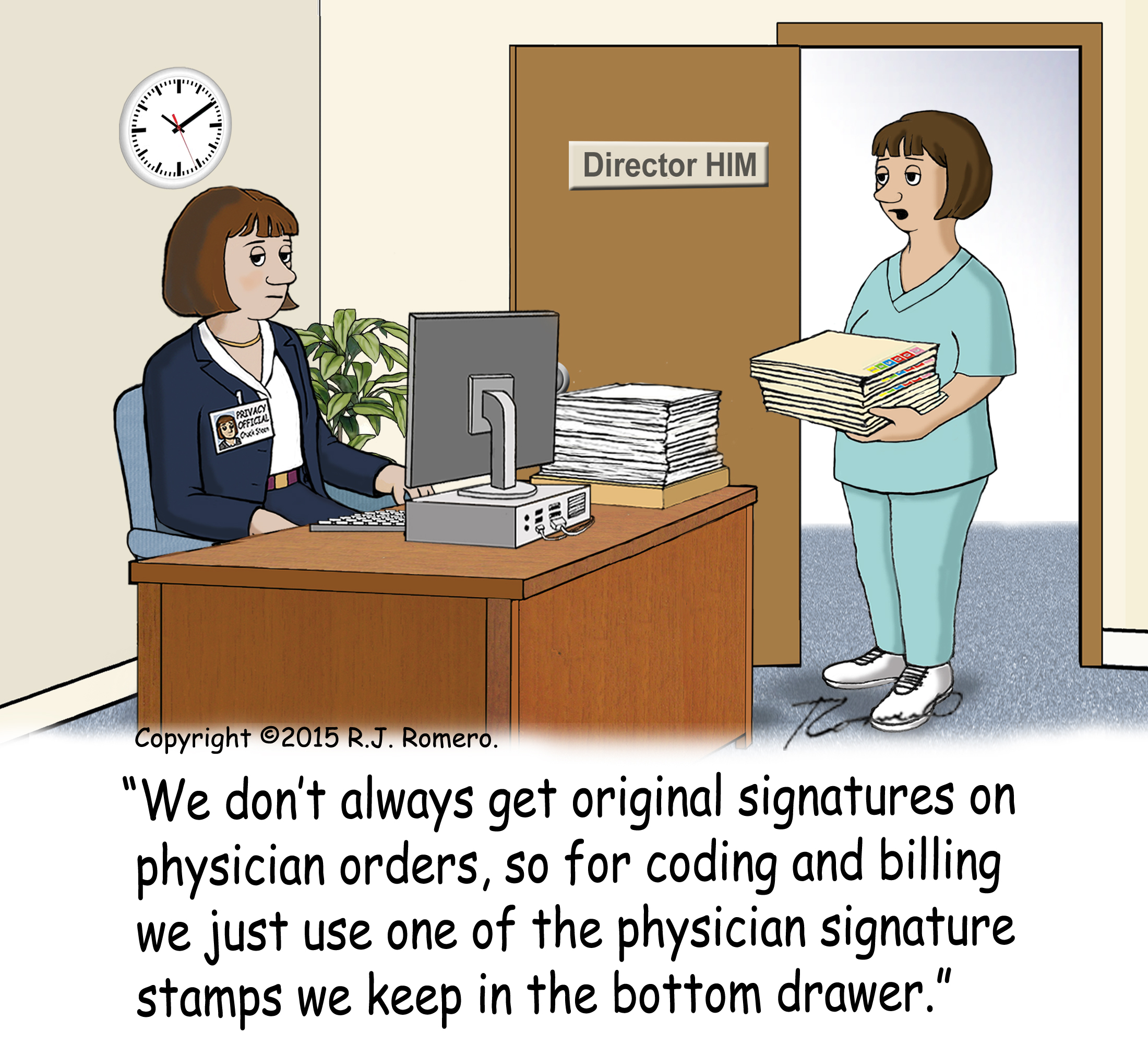 Cartoon gallery of funny medical billing humor, ICD10 cartoons ...