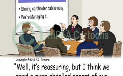 PCI DSS Compliance Cartoon