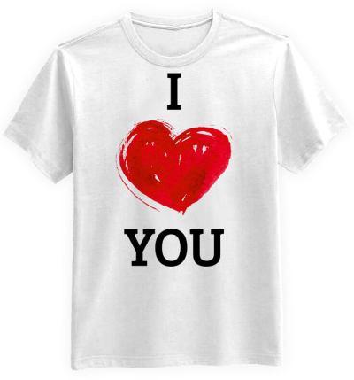 I Love You Biała