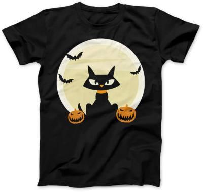 Czarny-Kot-Halloween-czarna
