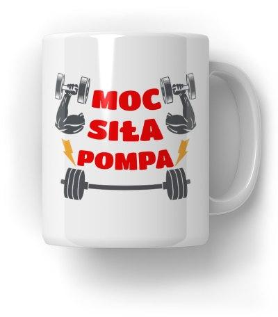 Moc-Siła-Pompa-Kubek-Prezent
