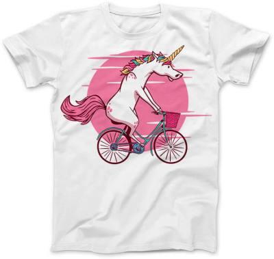 Jednorożec na rowerze
