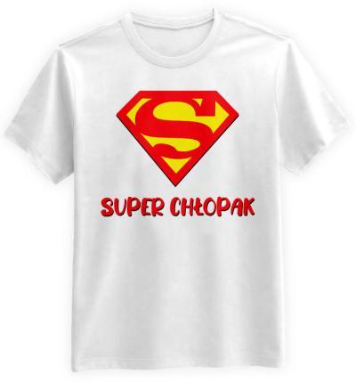 Super Chłopak Biała