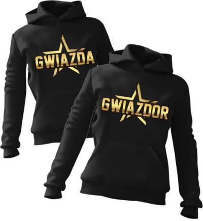 Zestaw bluz z kapturem Gwiazda & Gwiazdor
