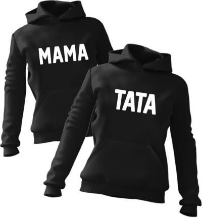 Zestaw bluz z kapturem Mama Tata
