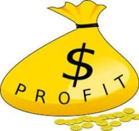 profit sack with dollar sign