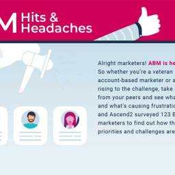 ABM Hits and Headaches Cover