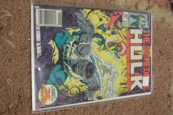 Incredible Hulk Comic # 337 1987 Marvel Grey X Factor Todd Mcfarlane Hipcomic