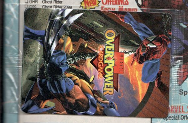 Web Of Spider-man #129 - Overpower Game Card Intact