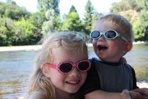 Kids Dordogne rivier