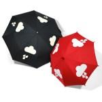 Een paraplu die verkleurt!