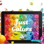Alleen maar kleuren- app