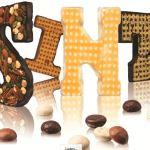 Fairtrade chocoladeletter van Australian homemade