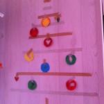 Masking tape kerstboom