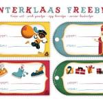 8 x gratis printables voor Sinterklaas