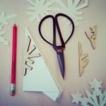 DIY Snowflake-win op woensdag