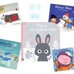 9 x Kinderboeken over sneeuw