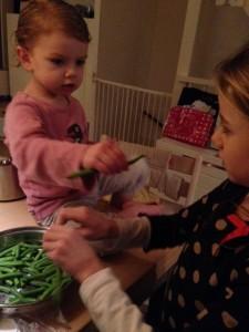 helpen met koken