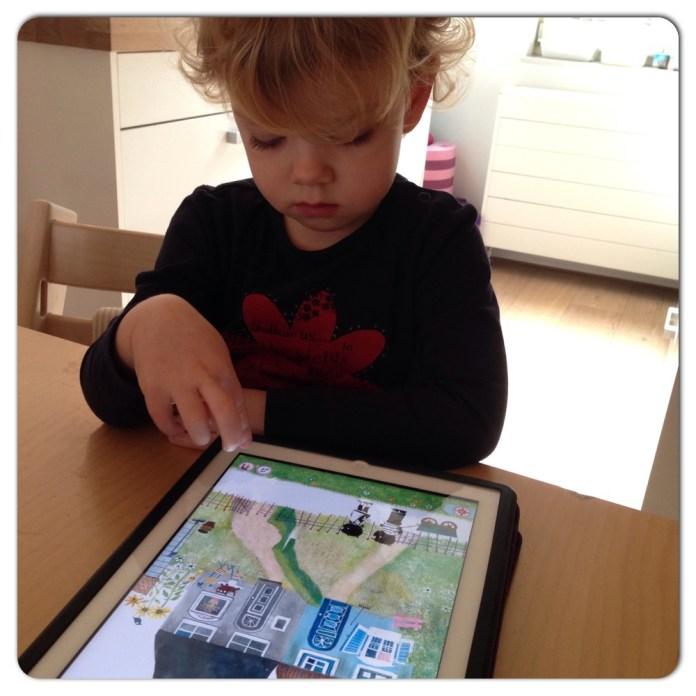 lenthe iPad jip janneke