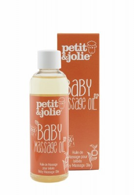 Petit Jolie Baby Massage oil Box + Bottle 700