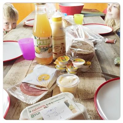 ontbijt farmcamps mariekerke