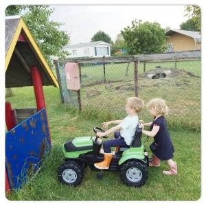 traktor rijden