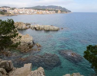 Calella de Palafrugell vanaf Cami de Ronda