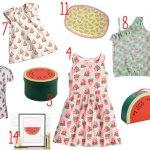 14 x producten met een watermeloen
