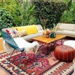Tuinlook voor kleurrijke types: de bohemian stijl