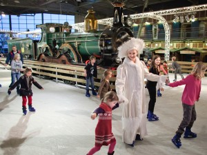 Winterstation - Foto Marieke Wijntjes