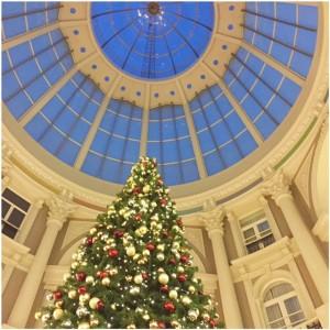 kerstboom passage