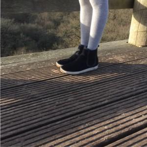 zwarte schoenen zijkant sterre