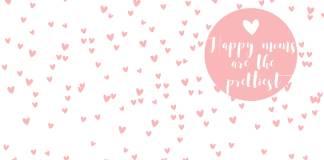 Moederdag zakje roze