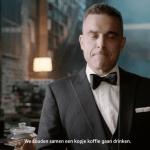 Robbie Williams doet iets wel heel spannends!