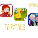 Sprookjes apps om de meivakantie door te komen