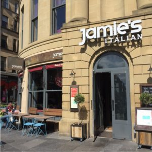 restaurant Jamie Oliver Newcastle