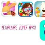 5 gratis of goedkope apps voor de zomer