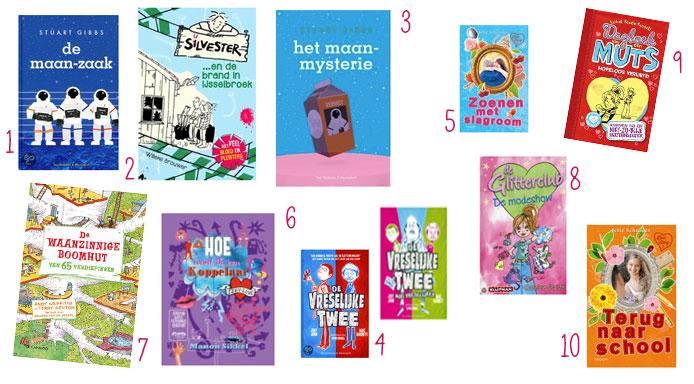 Top-10-zomerboeken
