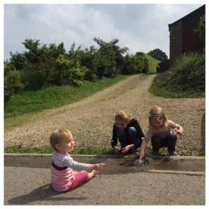 Ardennen met kinderen, dammetjes bouwen defroidmont