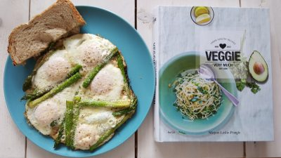 veggie very much asperge eieren