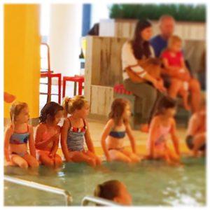 Lenthe eerste zwemles