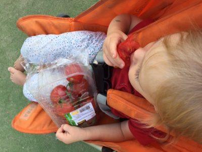 tomaatjes-snoepen