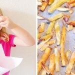 Groentefriet met homemade sausjes
